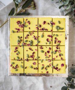 Lemon & Turmeric RAW Vegan Slices